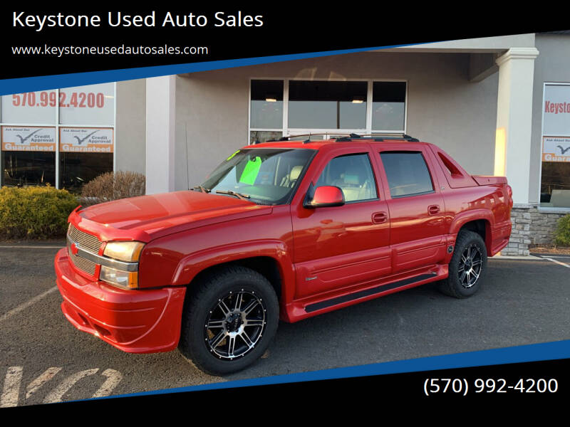 2005 Chevrolet Avalanche for sale at Keystone Used Auto Sales in Brodheadsville PA