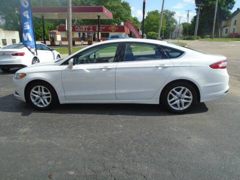 2016 Ford Fusion for sale at Nelson Auto Sales in Toulon IL