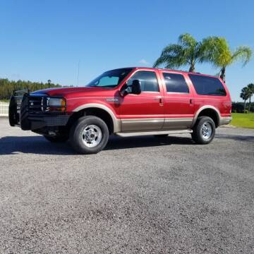 2001 Ford Excursion for sale at Specialty Motors LLC in Land O Lakes FL