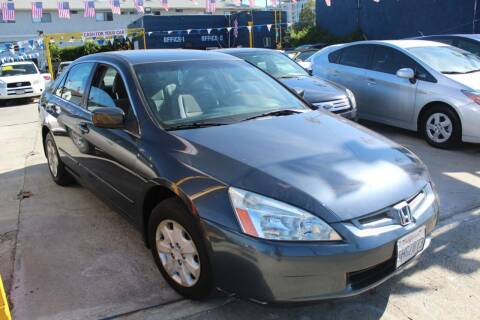 2004 Honda Accord for sale at FJ Auto Sales North Hollywood in North Hollywood CA