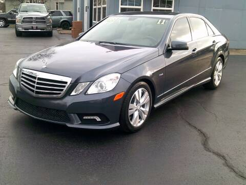 2011 Mercedes-Benz E-Class for sale at Stoltz Motors in Troy OH