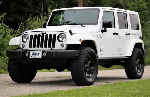 2015 Jeep Wrangler Unlimited for sale at Miers Motorsports in Hampstead NH