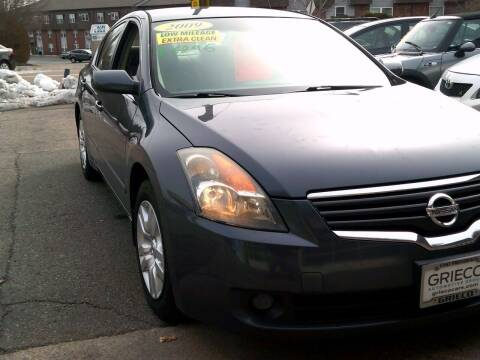 2009 Nissan Altima for sale at Trust Petroleum in Rockland MA