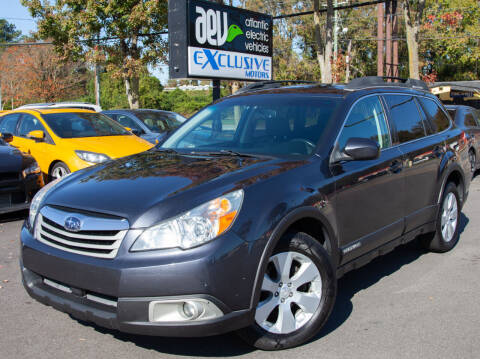2011 Subaru Outback for sale at EXCLUSIVE MOTORS in Virginia Beach VA