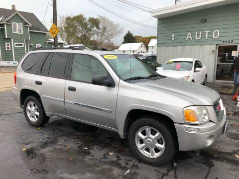 2008 GMC Envoy for sale at SHEFFIELD MOTORS INC in Kenosha WI