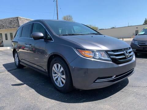 2016 Honda Odyssey for sale at Auto Gallery LLC in Burlington WI