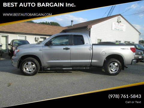 2010 Toyota Tundra for sale at BEST AUTO BARGAIN inc. in Lowell MA