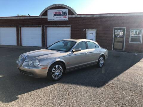 2005 Jaguar S-Type for sale at Family Auto Finance OKC LLC in Oklahoma City OK