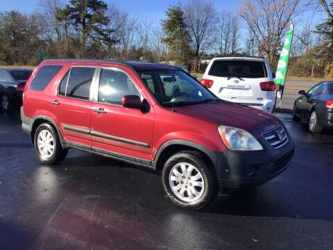 2005 Honda CR-V for sale at A & H Auto Sales in Greenville SC