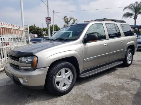 2002 Chevrolet TrailBlazer for sale at Olympic Motors in Los Angeles CA