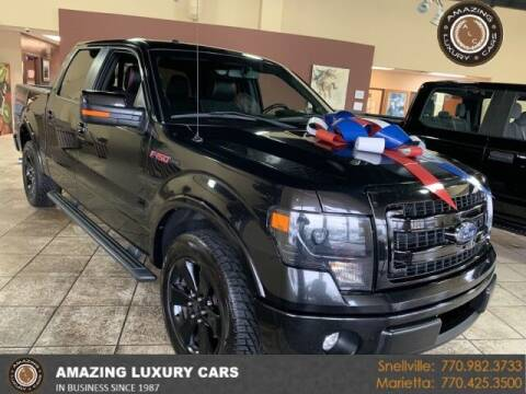 2013 Ford F-150 for sale at Amazing Luxury Cars in Snellville GA