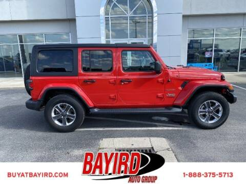 2020 Jeep Wrangler Unlimited for sale at Bayird Truck Center in Paragould AR