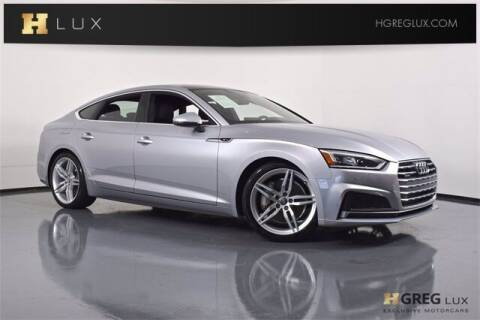 2018 Audi A5 Sportback for sale at HGREG LUX EXCLUSIVE MOTORCARS in Pompano Beach FL