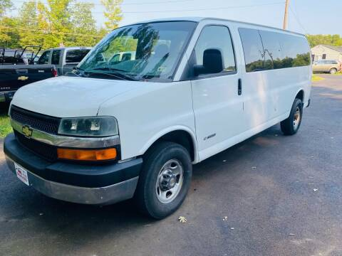 2005 Chevrolet Express Passenger for sale at MBL Auto Woodford in Woodford VA