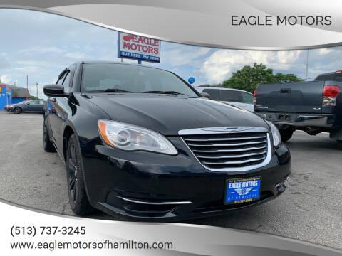 2013 Chrysler 200 for sale at Eagle Motors in Hamilton OH