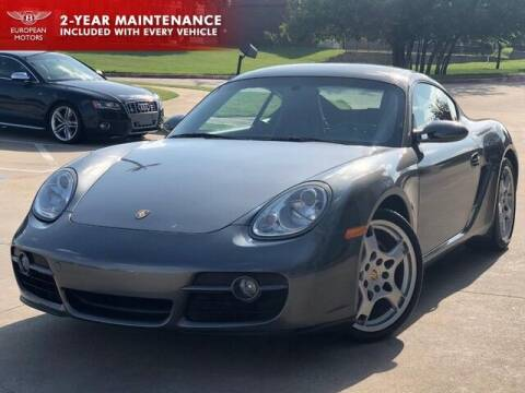 2007 Porsche Cayman for sale at European Motors Inc in Plano TX