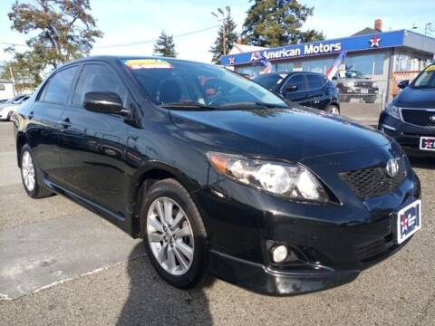 2010 Toyota Corolla for sale at All American Motors in Tacoma WA