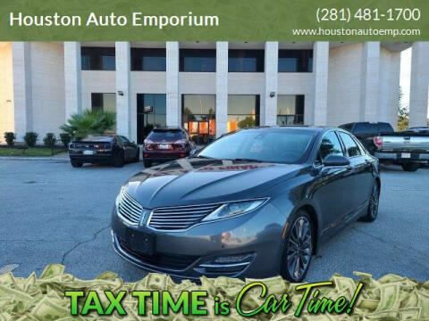2015 Lincoln MKZ Hybrid for sale at Houston Auto Emporium in Houston TX