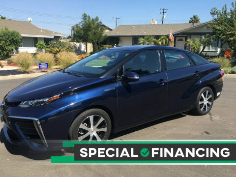 2016 Toyota Mirai for sale at Carmelo Auto Sales Inc in Orange CA