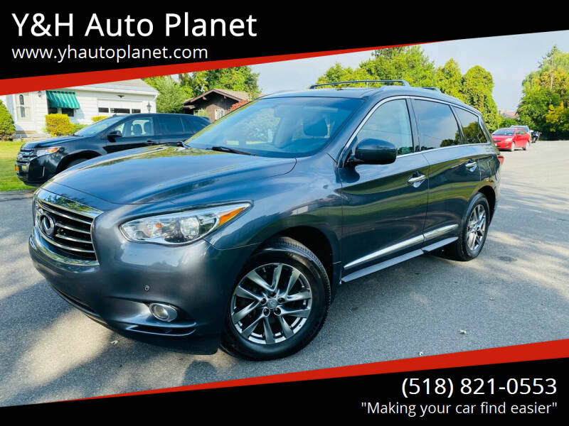 2013 Infiniti JX35 for sale at Y&H Auto Planet in West Sand Lake NY