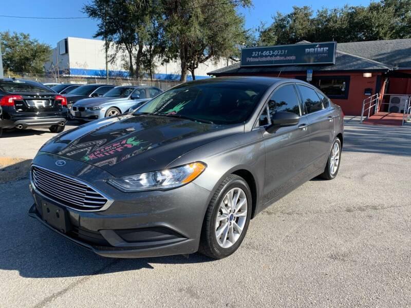 2017 Ford Fusion for sale at Prime Auto Solutions in Orlando FL