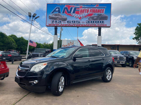 2014 Chevrolet Equinox for sale at ANF AUTO FINANCE in Houston TX