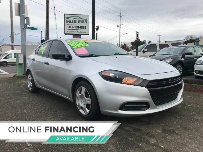 2013 Dodge Dart for sale at Salem Auto Market in Salem OR