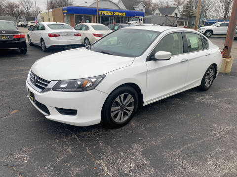 2013 Honda Accord for sale at PAPERLAND MOTORS in Green Bay WI
