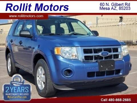 2009 Ford Escape for sale at Rollit Motors in Mesa AZ