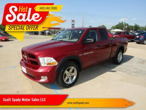 2012 RAM Ram Pickup 1500 for sale at Scott Spady Motor Sales LLC in Hastings NE