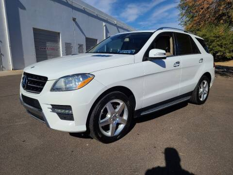2014 Mercedes-Benz M-Class for sale at NEW UNION FLEET SERVICES LLC in Goodyear AZ