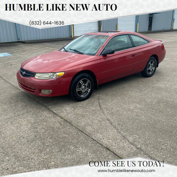 1999 Toyota Camry Solara for sale in Humble, TX