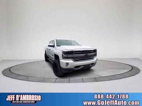2016 Chevrolet Silverado 1500 for sale at Jeff D'Ambrosio Auto Group in Downingtown PA