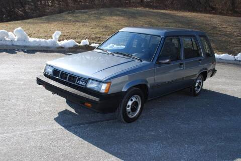 1987 Toyota Tercel for sale at New Milford Motors in New Milford CT