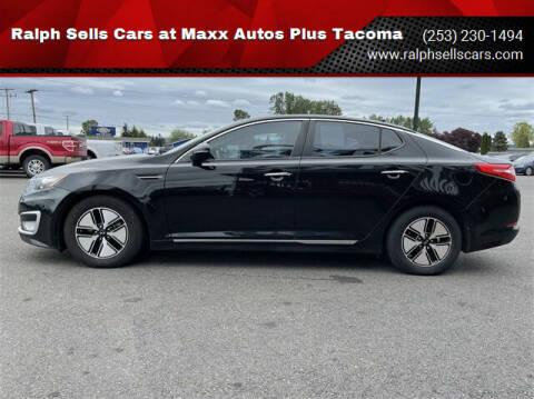 2012 Kia Optima Hybrid for sale at Ralph Sells Cars at Maxx Autos Plus Tacoma in Tacoma WA