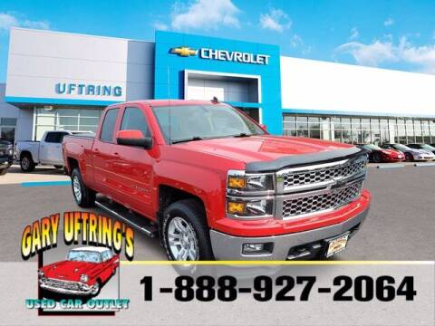 2015 Chevrolet Silverado 1500 for sale at Gary Uftring's Used Car Outlet in Washington IL
