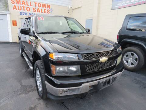 2011 Chevrolet Colorado for sale at Small Town Auto Sales in Hazleton PA