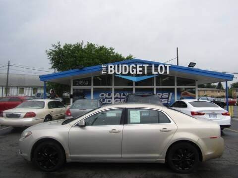 2010 Chevrolet Malibu for sale at THE BUDGET LOT in Detroit MI