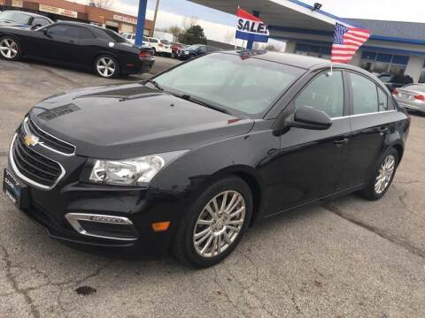2016 Chevrolet Cruze Limited for sale at Cars East in Columbus OH