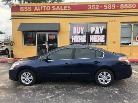 2011 Nissan Altima for sale at BSS AUTO SALES INC in Eustis FL