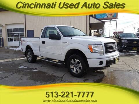 2013 Ford F-150 for sale at Cincinnati Used Auto Sales in Cincinnati OH