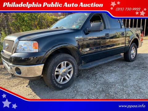 2008 Ford F-150 for sale at Philadelphia Public Auto Auction in Philadelphia PA