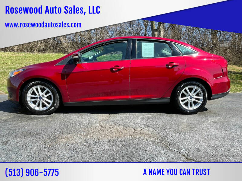 2016 Ford Focus for sale at Rosewood Auto Sales, LLC in Hamilton OH