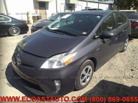 2012 Toyota Prius for sale at East Coast Auto Source Inc. in Bedford VA