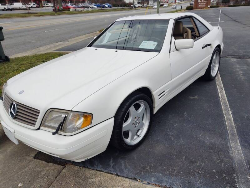 1997 Mercedes-Benz SL-Class for sale at Ray Moore Auto Sales in Graham NC