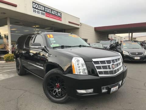 2013 Cadillac Escalade ESV for sale at Golden State Auto Inc. in Rancho Cordova CA