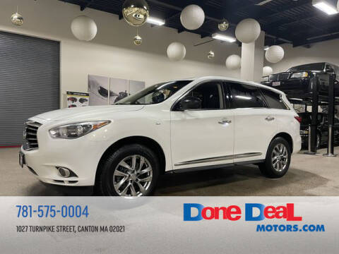 2014 Infiniti QX60 for sale at DONE DEAL MOTORS in Canton MA