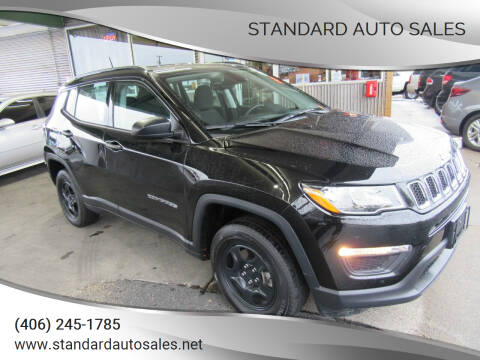 2017 Jeep Compass for sale at Standard Auto Sales in Billings MT