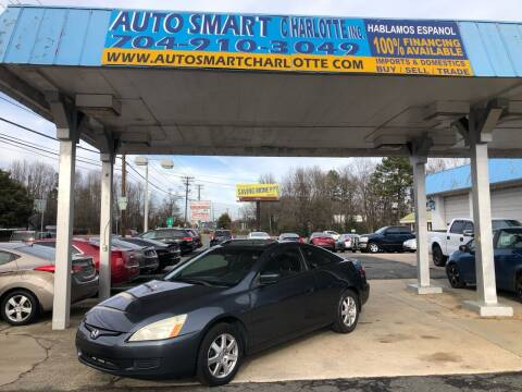 2005 Honda Accord for sale at Auto Smart Charlotte in Charlotte NC