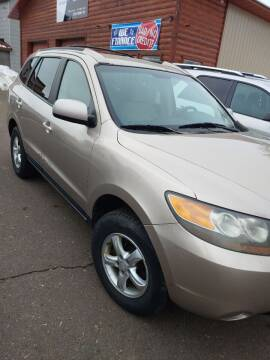2007 Hyundai Santa Fe for sale at WB Auto Sales LLC in Barnum MN